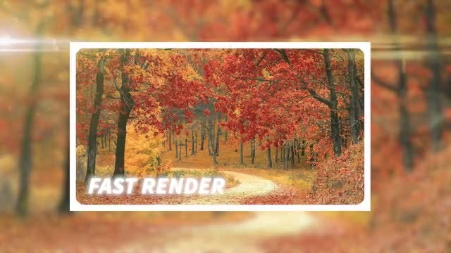 Autumn Slideshow: Premiere Pro Templates