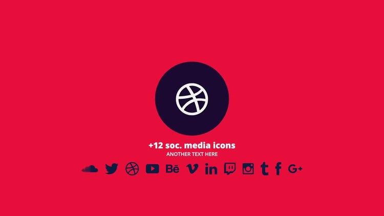 Quick Flat Logo: Premiere Pro Templates