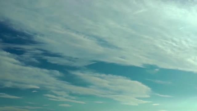 Clouds Flying on Sky: Stock Video