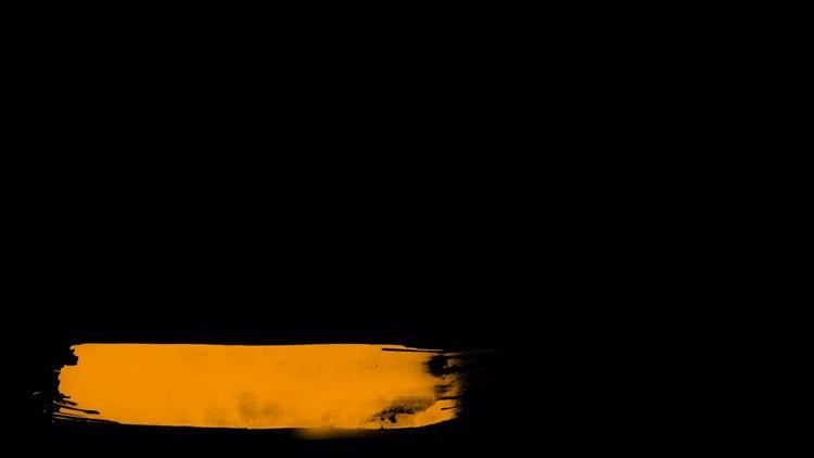 Orange Paint Third: Motion Graphics