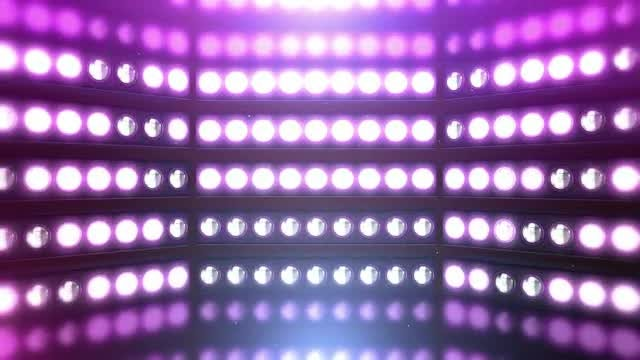 Pink Party Lights VJ: Stock Motion Graphics