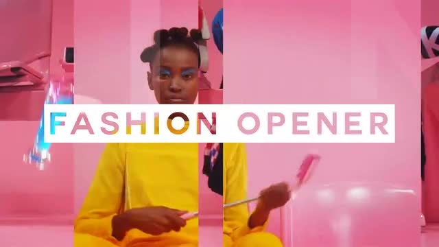 Fashion Intro: After Effects Templates