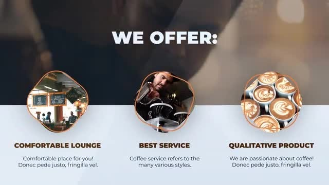 Barista Coffee Shop Promo: After Effects Templates
