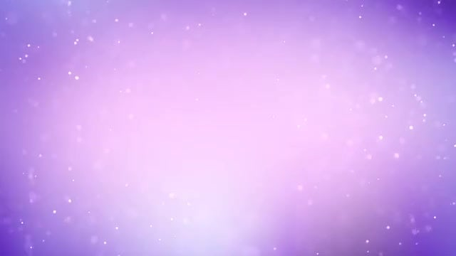 Blue-Purple Particles Snowing Sky: Stock Motion Graphics