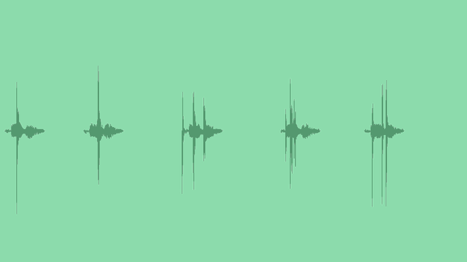 Percussive Notifications: Sound Effects