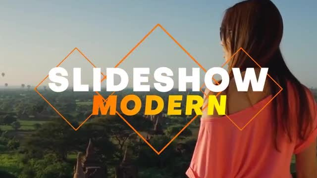 Slideshow Modern: After Effects Templates