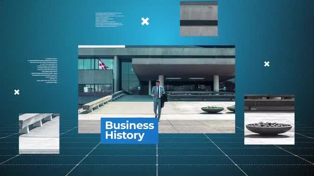 Business History: Premiere Pro Templates