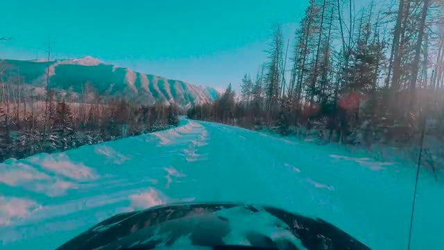 POV Of Glacier National Park: Stock Video