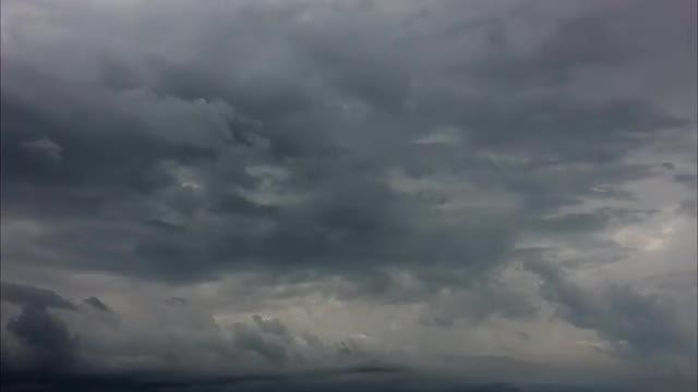 Dark Storm Clouds Rolling: Stock Video
