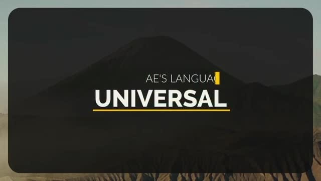 Unique Titles - Style 1: Motion Graphics Templates