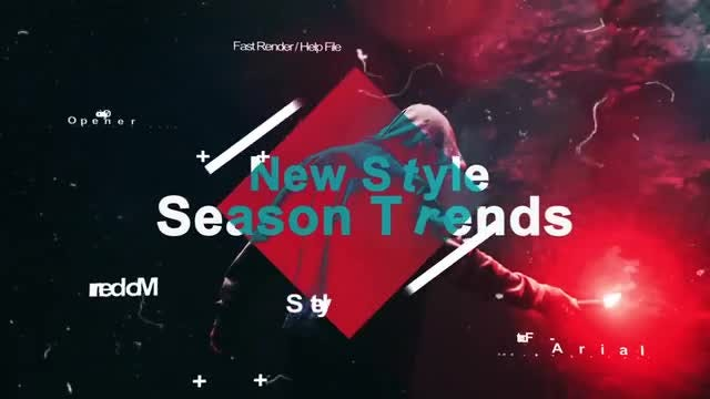 Aggressive Opener: After Effects Templates