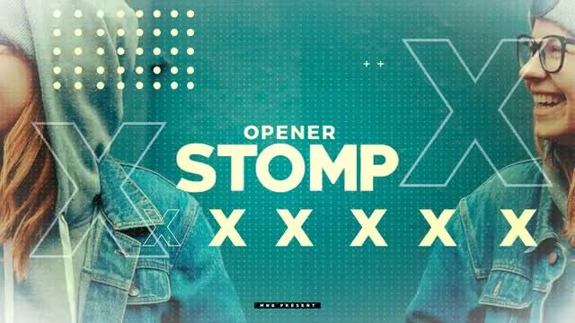 Stomp Opener V2: After Effects Templates