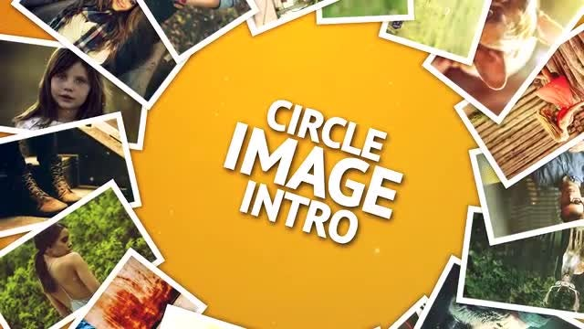 Circle Image Intro: After Effects Templates