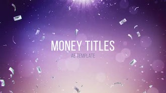 Money Titles: After Effects Templates