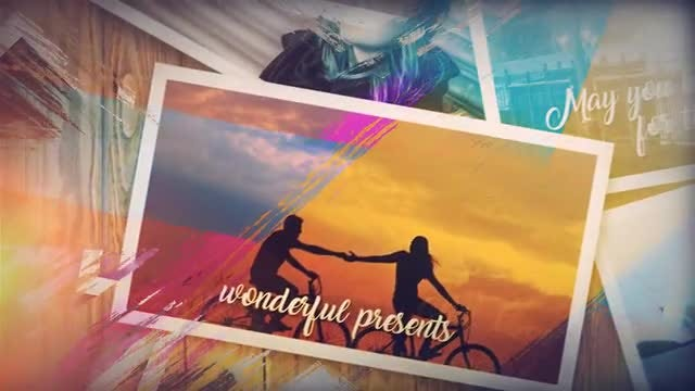 Lovely Brush Memory: After Effects Templates