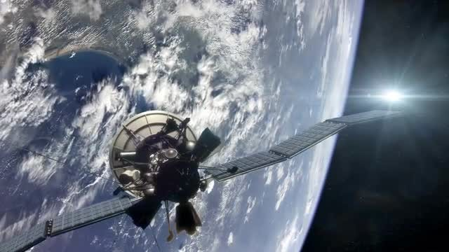 Satellite in Earth Orbit Pack: Stock Motion Graphics