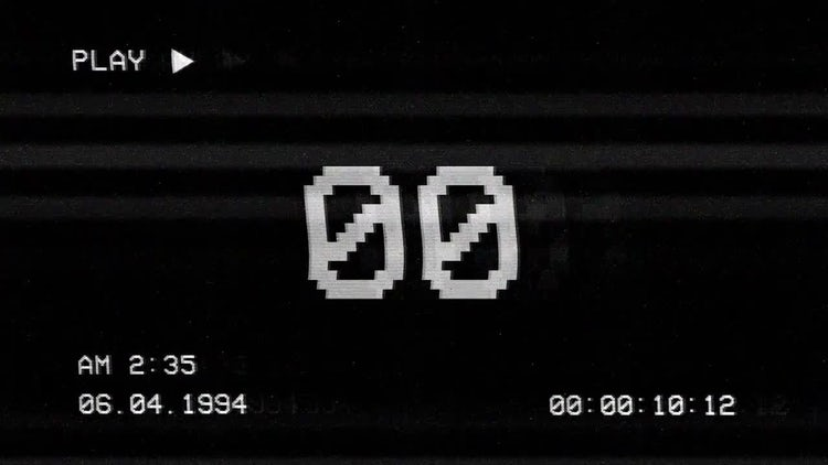 Bad TV Countdown: Stock Motion Graphics