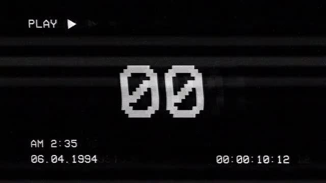 Bad TV Countdown: Stock Motion Graphics