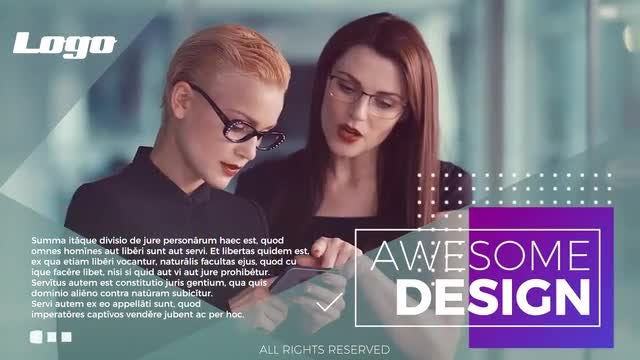 Corporate Promo - Presentation: Premiere Pro Templates