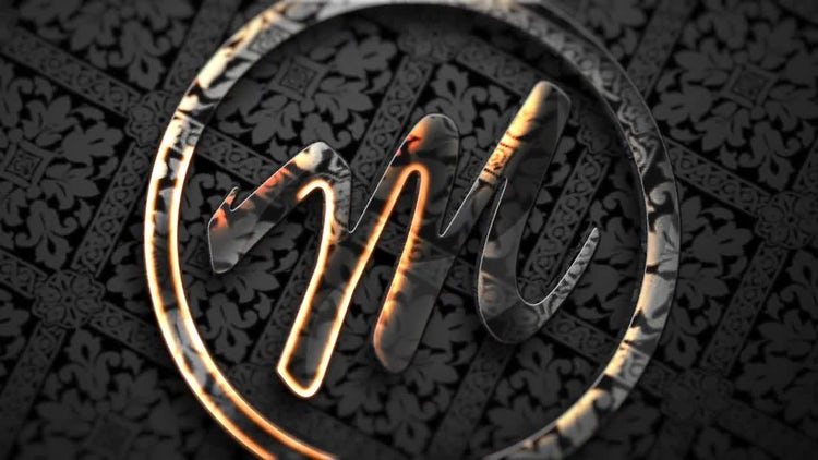 Glossy Transparent Logo: After Effects Templates