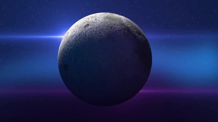 Full Moon: Stock Motion Graphics