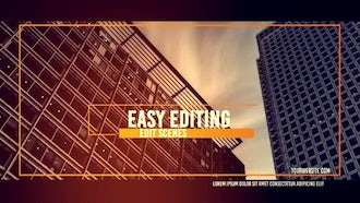 Architecture Slide: After Effects Templates