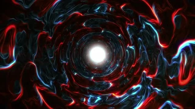 Endless Tunnel Abstract 4K Loop: Stock Motion Graphics