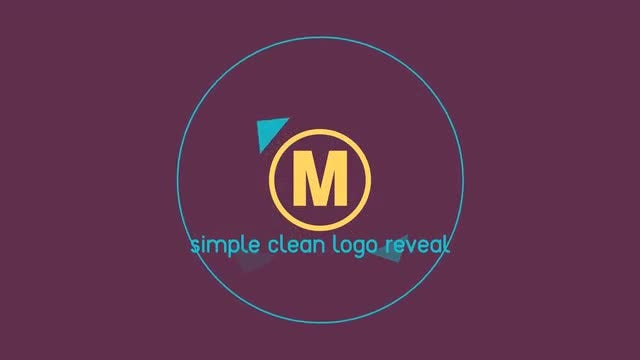 Cut logo reveal: After Effects Templates