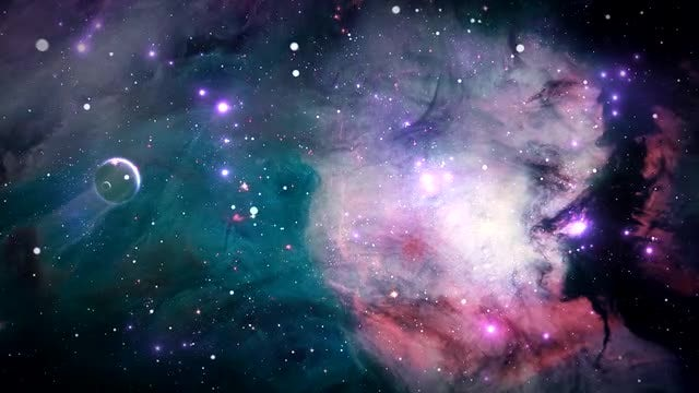 Space Nebula: Stock Motion Graphics