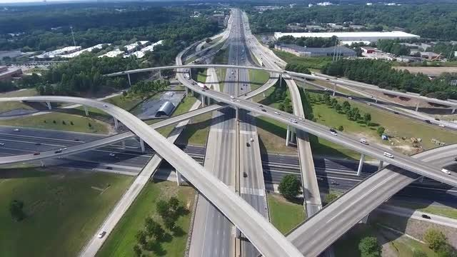 Spaghetti Junction: Stock Video