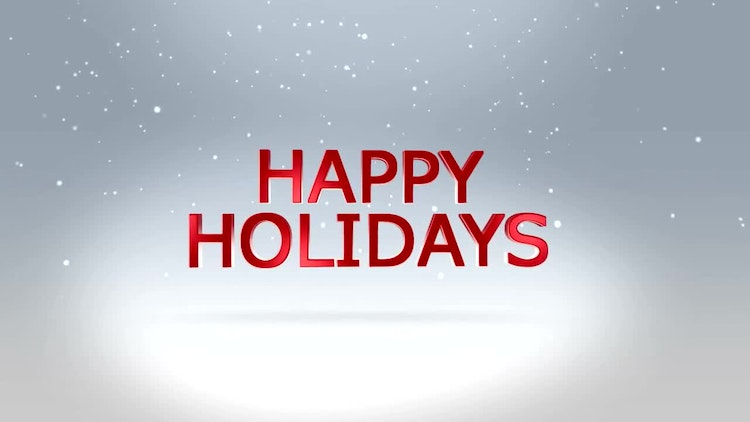 Happy Holidays - After Effects Templates | Motion Array