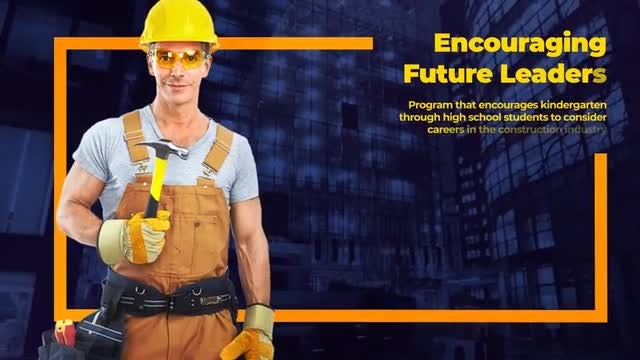 Clean Construction Promo - Building Company Presentation: After Effects Templates