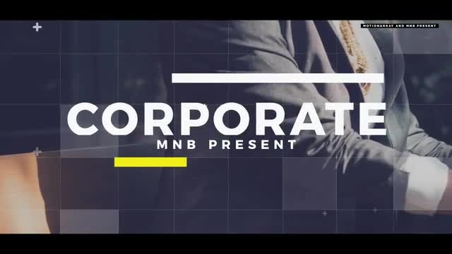 Corporate Promo V2: After Effects Templates