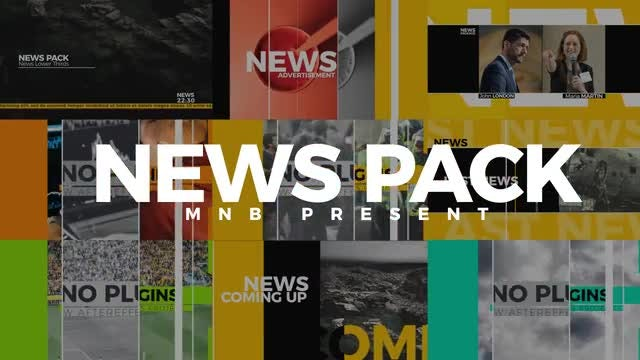 News Pack: After Effects Templates