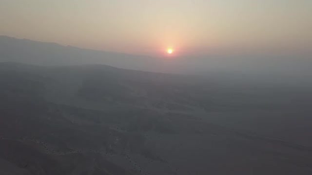 Sunrise In Death Valley, California: Stock Video