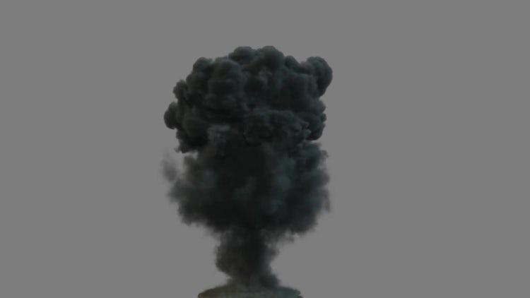 Explosion Animation 2: Motion Graphics