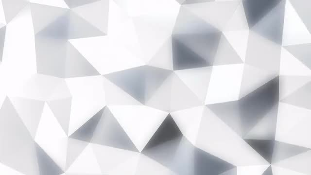 Glowing Polyhedron Background Pack: Stock Motion Graphics