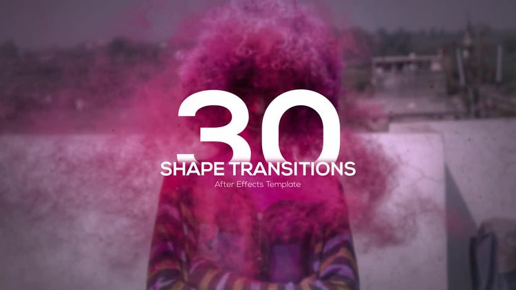 Shape Transitions: After Effects Templates