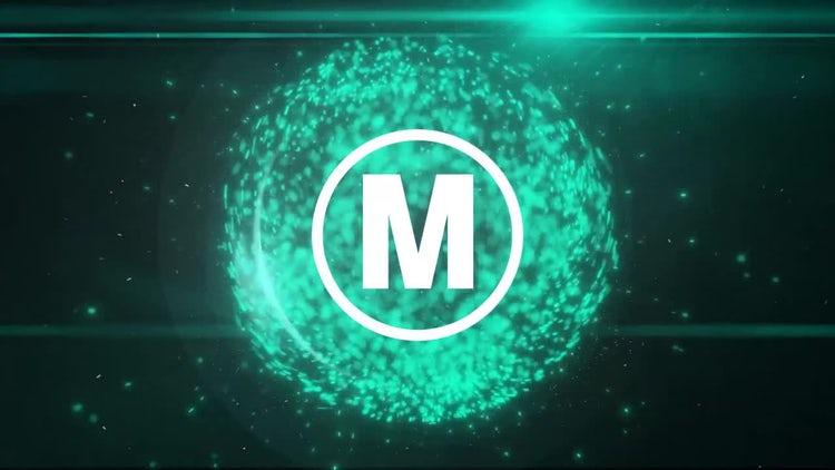 Sphere Particles Logo: Premiere Pro Templates