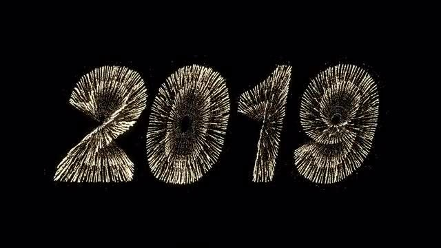 2019 New Year Fireworks Pack: Stock Motion Graphics