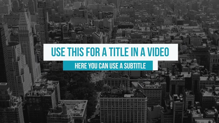 Box Spin Titles: Premiere Pro Templates