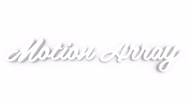 White Super Clean Logo: After Effects Templates