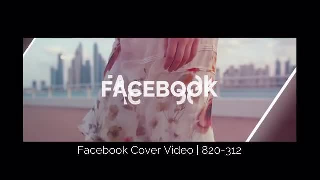 Facebook Cover Video 03: Premiere Pro Templates