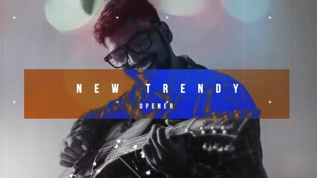 New Trendy Opener: After Effects Templates