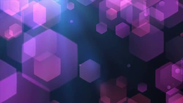 Falling Hexagons: Stock Motion Graphics