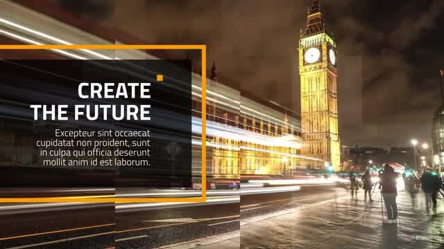Business Square Presentation: After Effects Templates