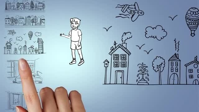 Doodle Animation - Young Boy: After Effects Templates