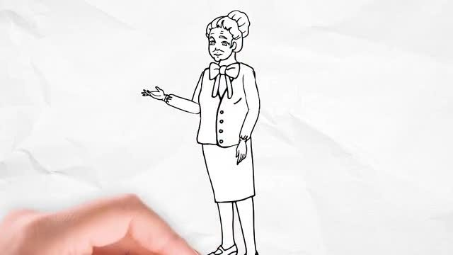 Doodle Animation - Grandmother: After Effects Templates