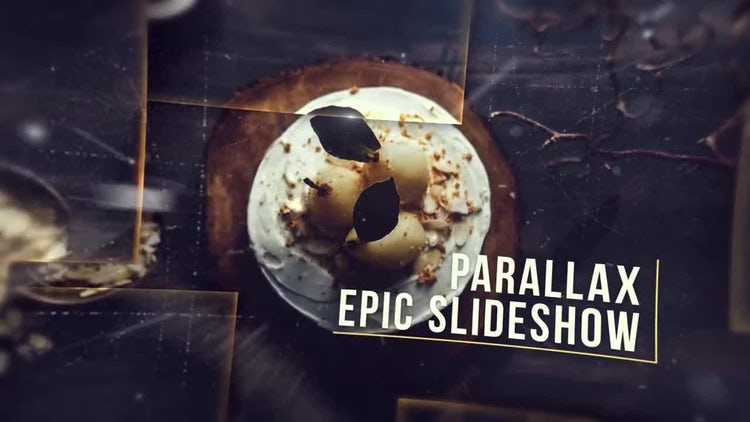 Parallax Epic Slideshow: After Effects Templates