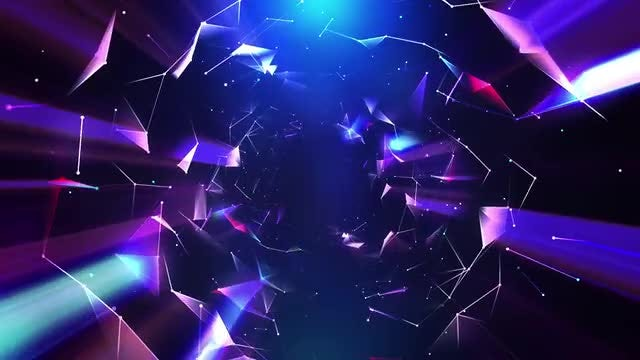Convex Plexus VJ Loop 4K: Stock Motion Graphics
